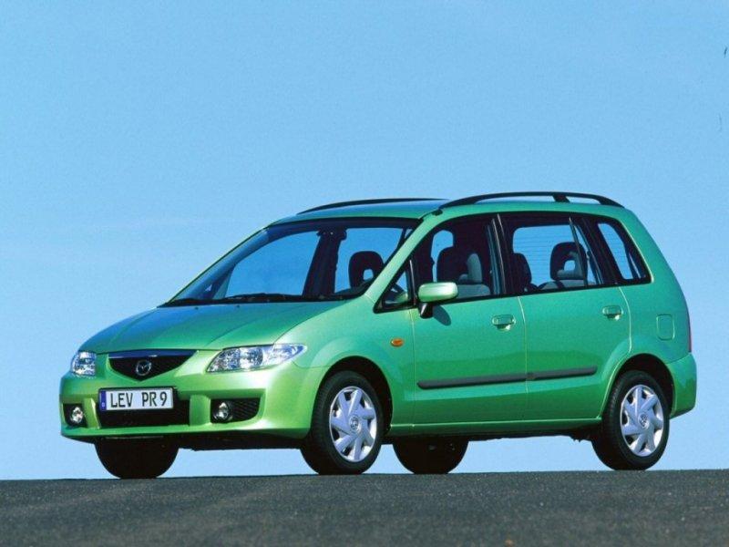 Фотографии Mazda Premacy.