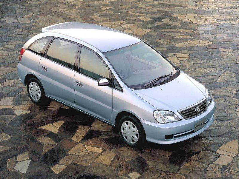 Тойота Надя технические характеристики. Toyota Nadia ...